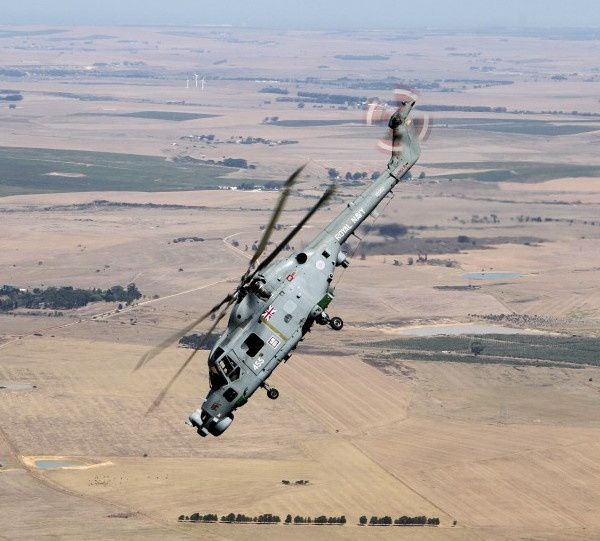 Lynx from the Royal Navy's 226 Flight - photo Dean Wingrin defenceWeb