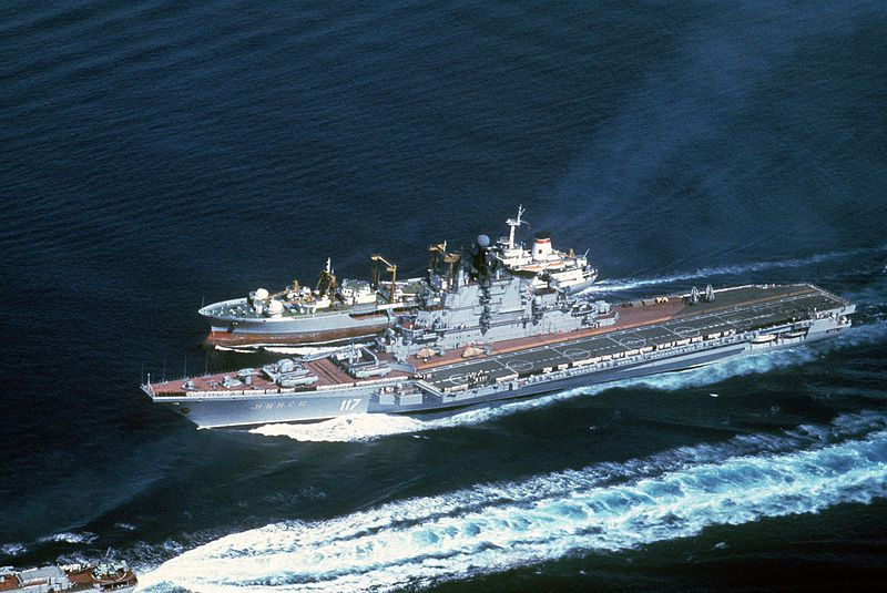 Minsk a Kiev class aviation cruiser
