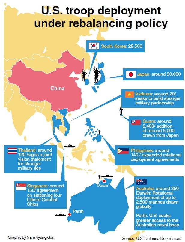 US troop deployment in Asia-Pacific (May 2014, strategic-culture.org)