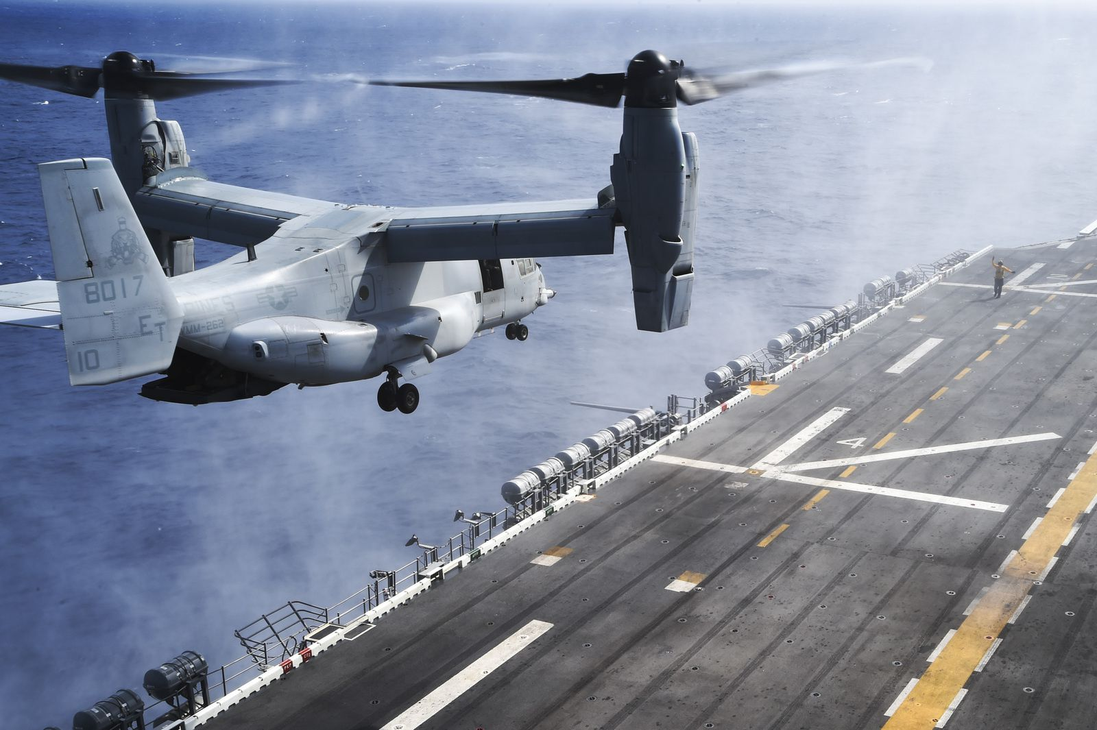 Naval Air: V-22s Are The New COD