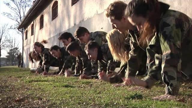 Les élèves de l'IDRAC en immersion dans l'Armée de Terre