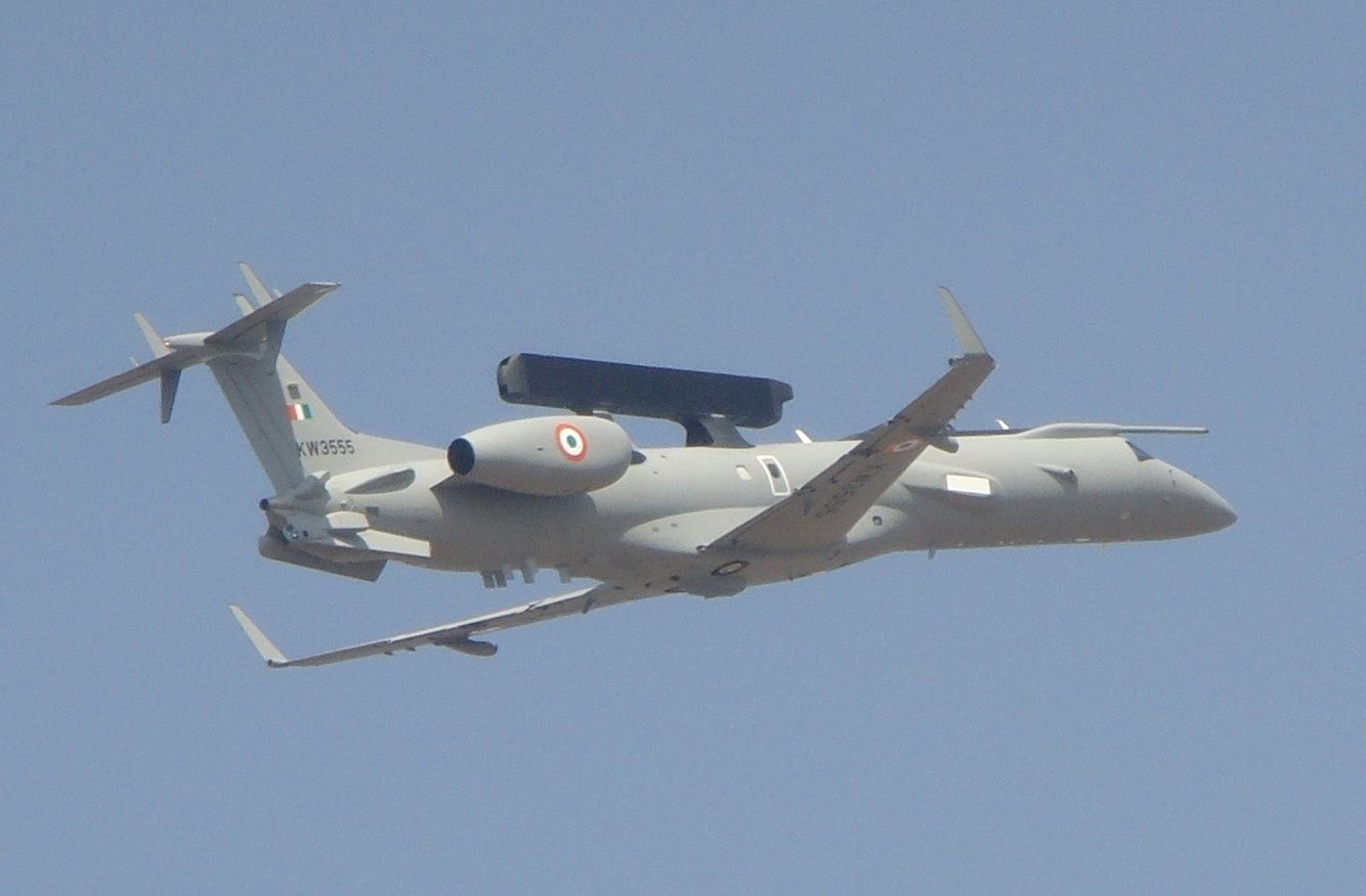 IAF To Induct 1st Indo-Brazilian AEW&amp&#x3B;C Jet In Sept