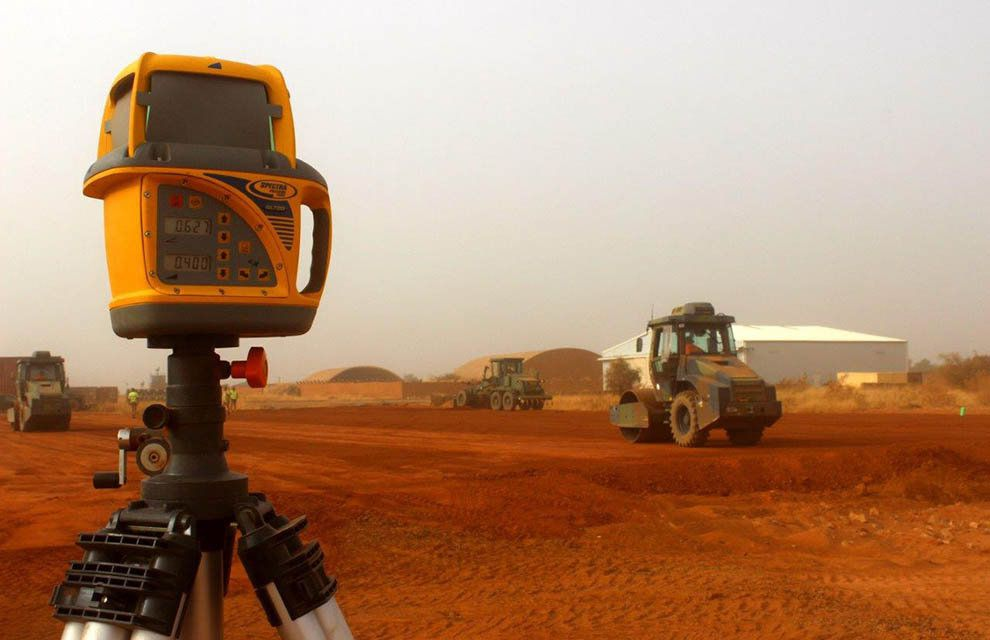 Barkhane : Le 19e RG à pied d'œuvre sur le DETAIR de Niamey