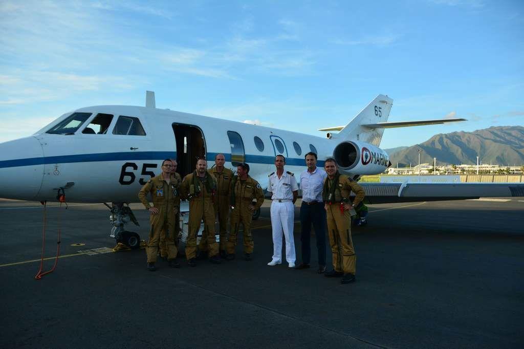 Nouvelle-Calédonie : La flottille 25F assure un vol de reconnaissance pour le Haut-Commissaire de la République
