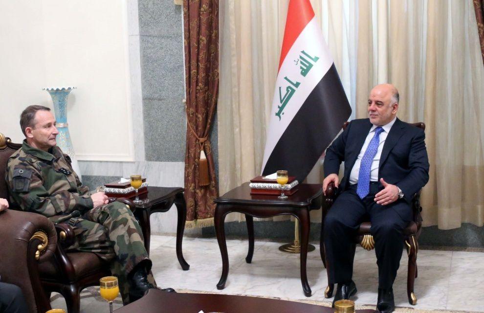 Visite du CEMA en Irak dans le cadre de l'opération Chammal