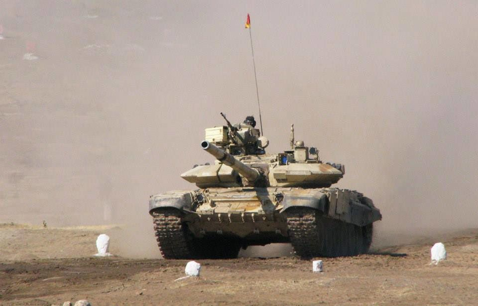 T-90 photo Rostec