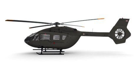 L'EC145 T2 est motorisé avec l'Arriel 2E de Turbomeca photo Airbus HC