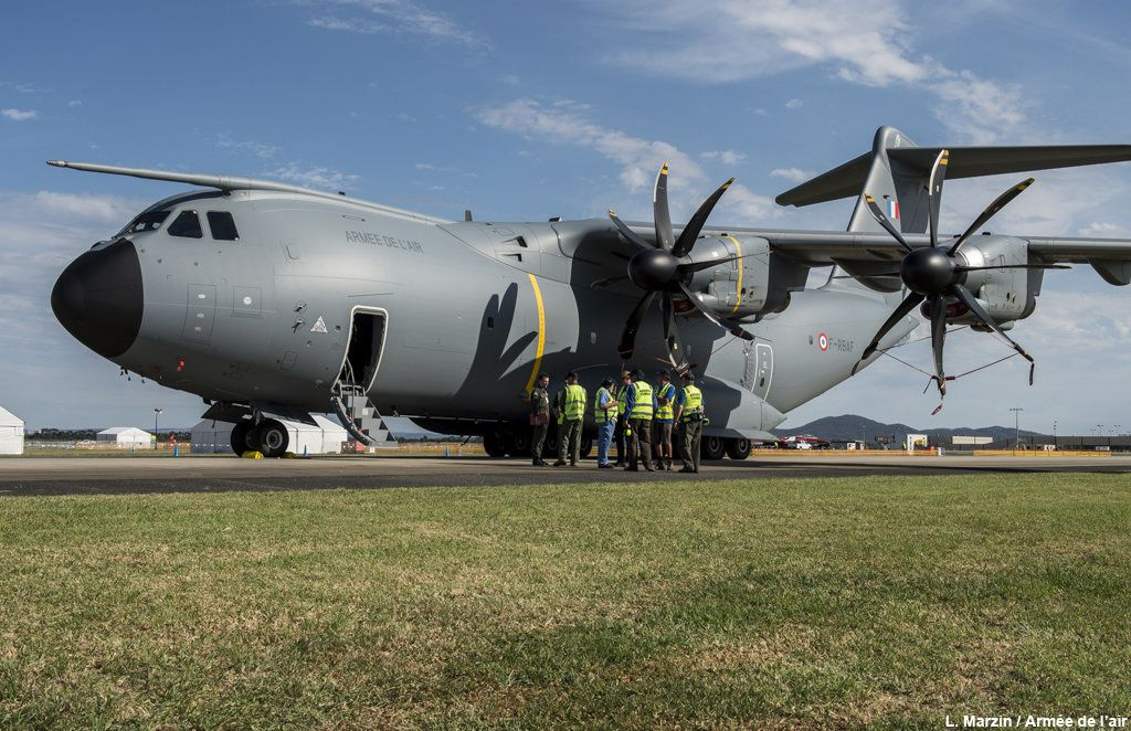 L'A400M Atlas au salon aéronautique d'Avalon en Australie