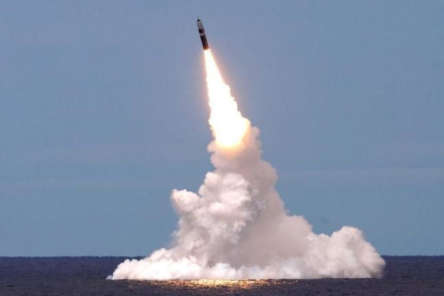 The Trident II D5 Fleet Ballistic Missile (FBM). Photo by Lockheed Martin