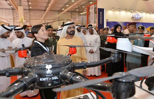 Mohammed bin Rashid: UAE moves at a steady pace in manufacturing field to strengthen its defence capabilities