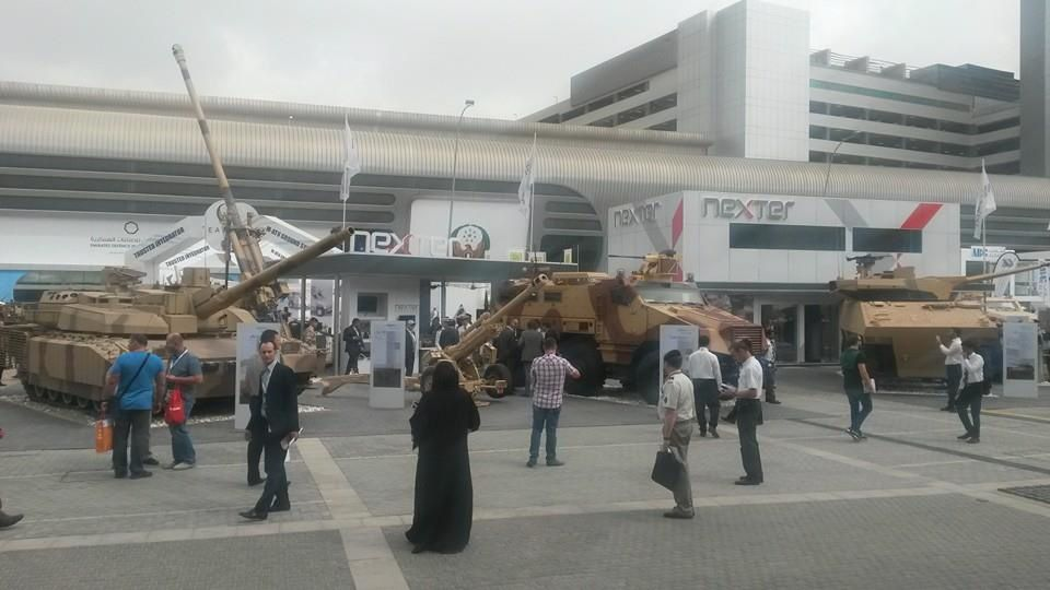 Nexter Systems at İDEX 2015 - photo LB