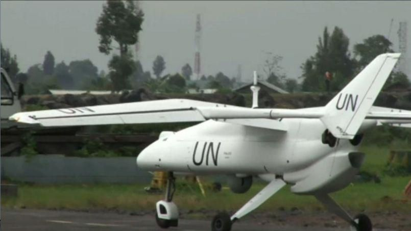 drone Falco de l'ONU. Crédits photo Video UN