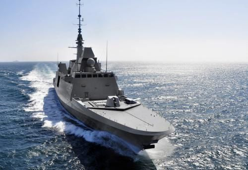 La FREMM Aquitaine (PHOTO DCNS)