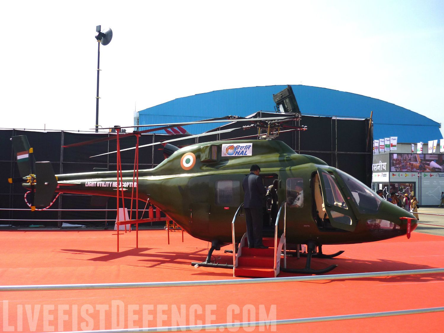 HAL's Light Utility Copter - photo Livefist