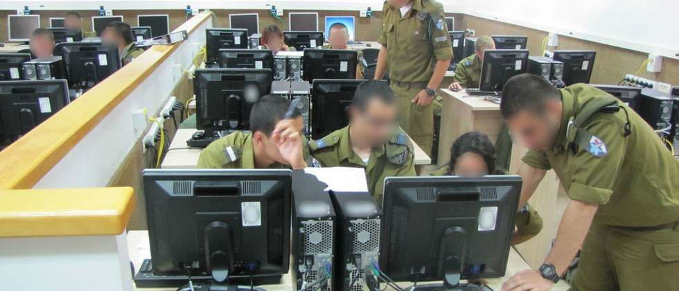 IDF Cber course - photo Tsahal
