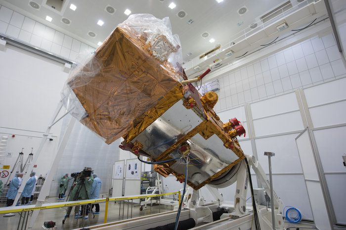 Sentinel-2A completed various tests at IABG's test facilities. Photo ESA-S Corvaja, 2015.