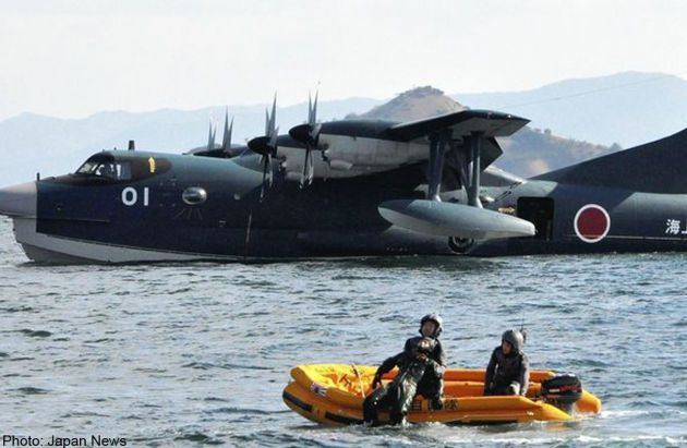 India to purchase Japanese amphibious rescue aircraft