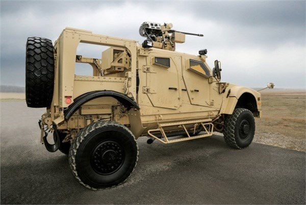 Oshkosh Defense, EOS, and Orbital ATK Demo Live Fire Capabilities