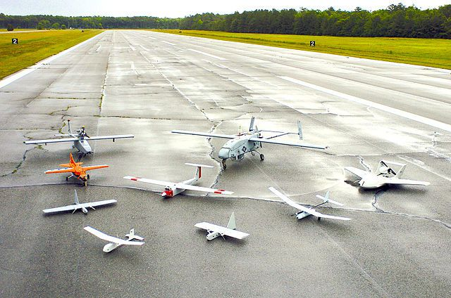 Unmanned aerial vehicles. Photo US Navy
