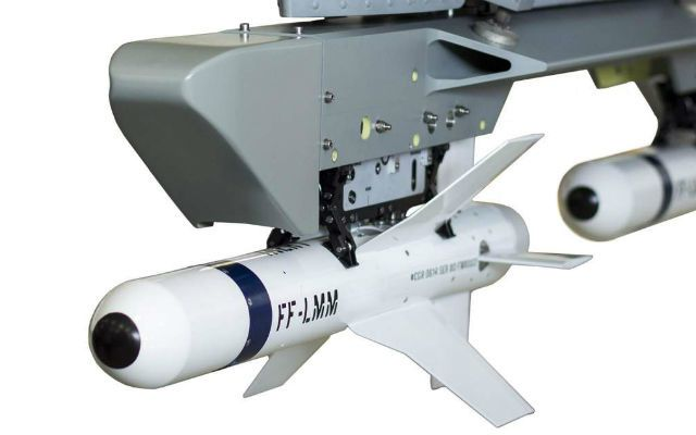 Lightweight Multirole Missile (LMM) - photo Thales