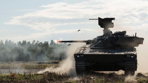 CV90 Infantry Fighting Vehicle (IFV) - photo BAE Systems