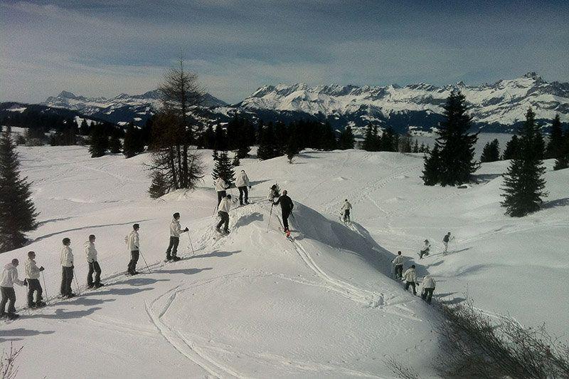 Découverte militaire avec les chasseurs alpins