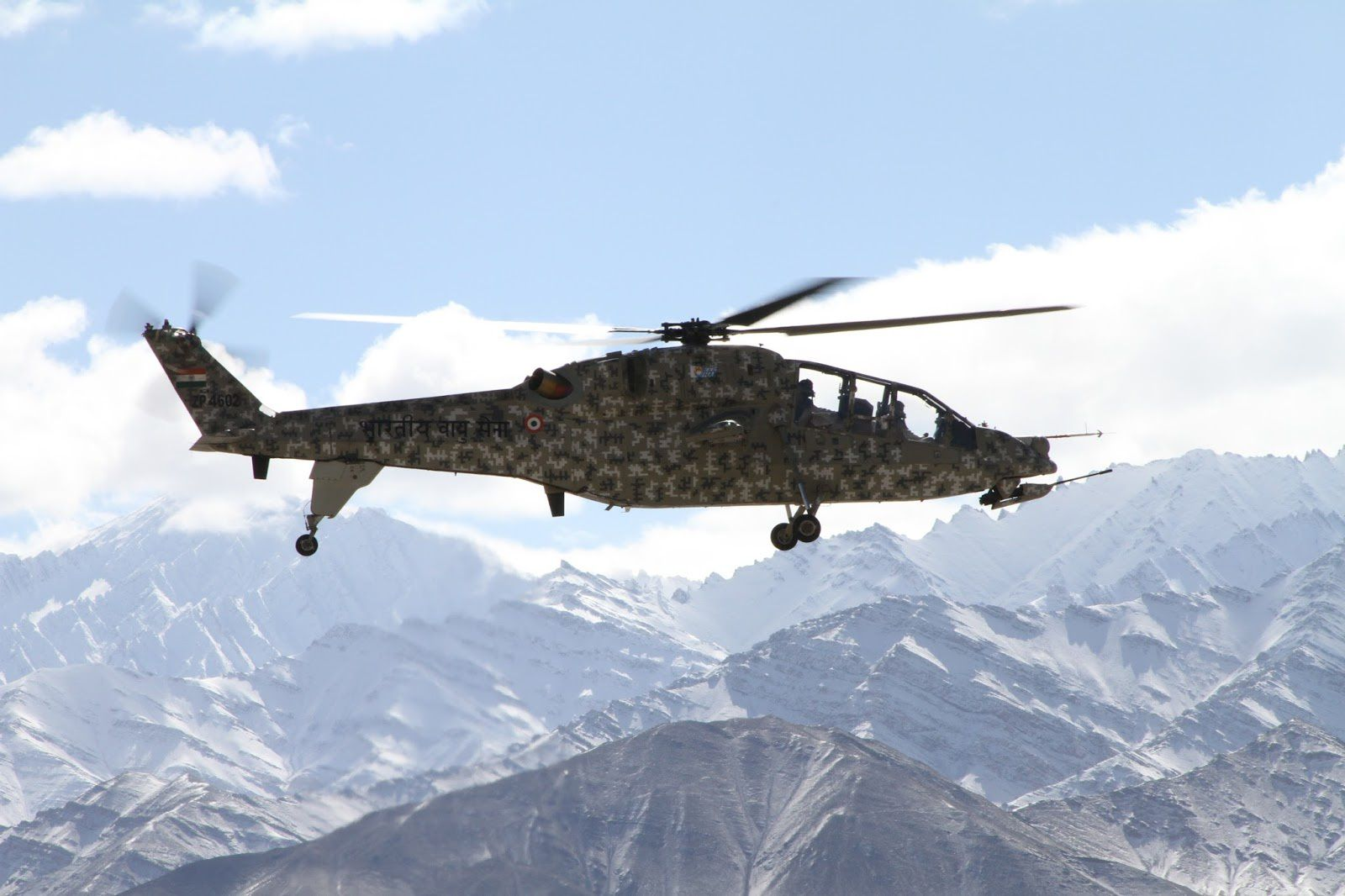 Indian Light Combat Copter Goes Through Cold Tests