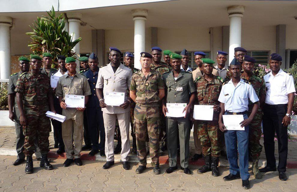 EFS : Stage logistique ONU au Bénin