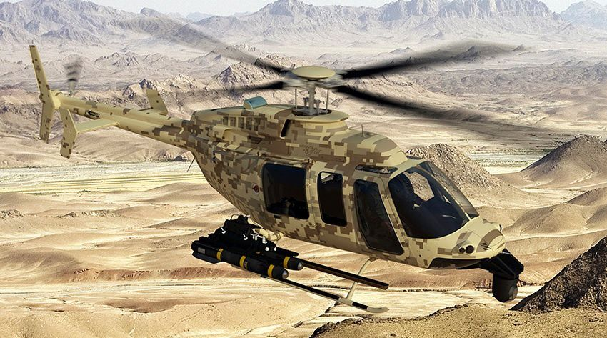 U.S. To Re-Enter Indian Light Copter Contest
