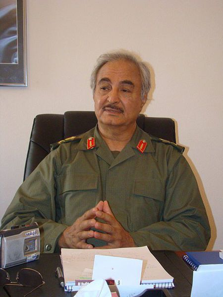 General Khalifa Haftar photo Magharebia