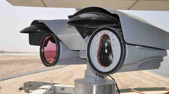 The Z:NightOwl M surveillance system from Airbus Defense and Space. Photo: Airbus DS