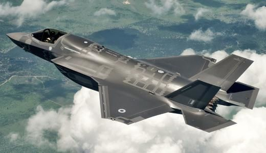 Britain invests in facilities for F-35 aircraft