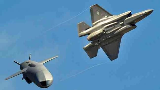 Artist's impression of an F-35 releasing a joint strike missile. Photo Kongsberg Defense and Aerospace