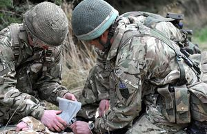 Medical training - photo UK MoD
