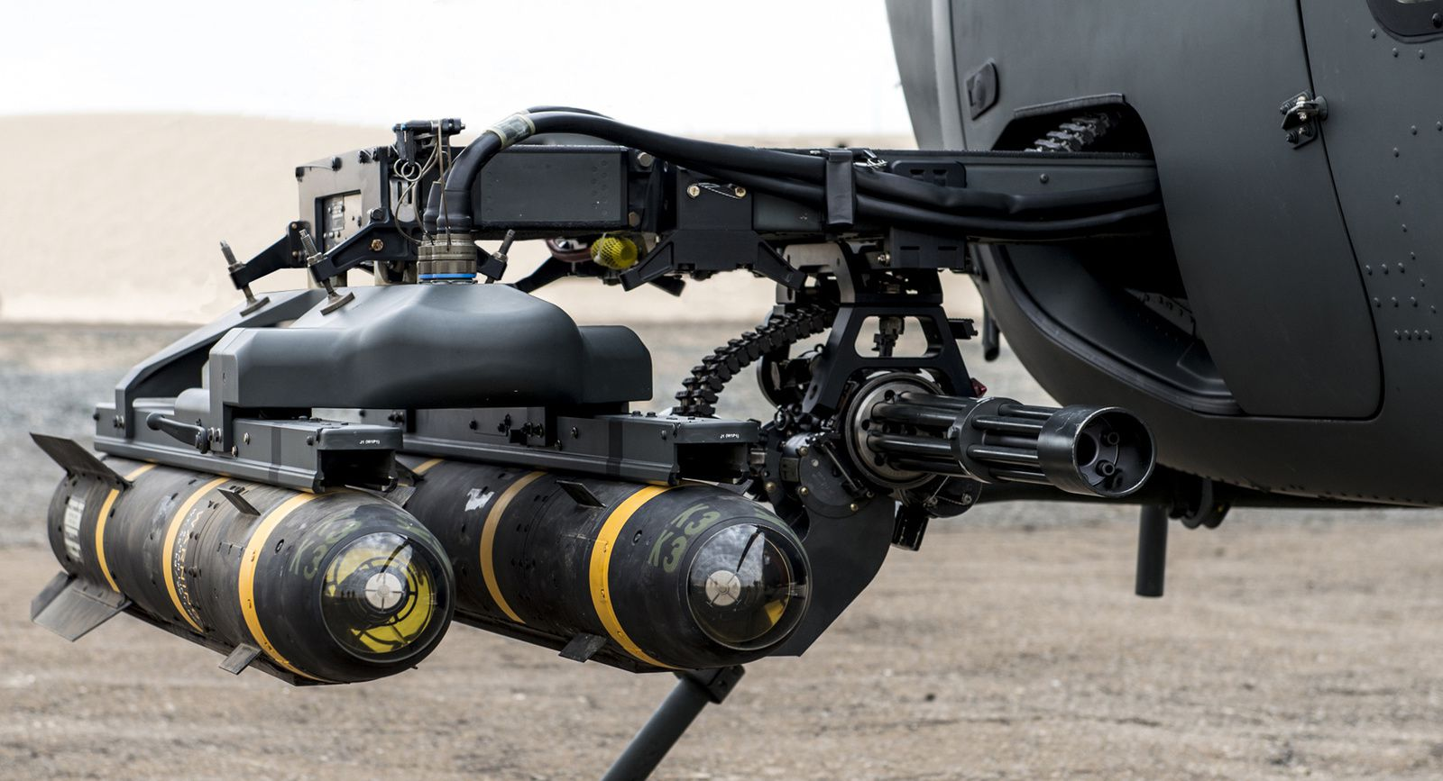 NorthStar Turns Commercial Helo into Gunship