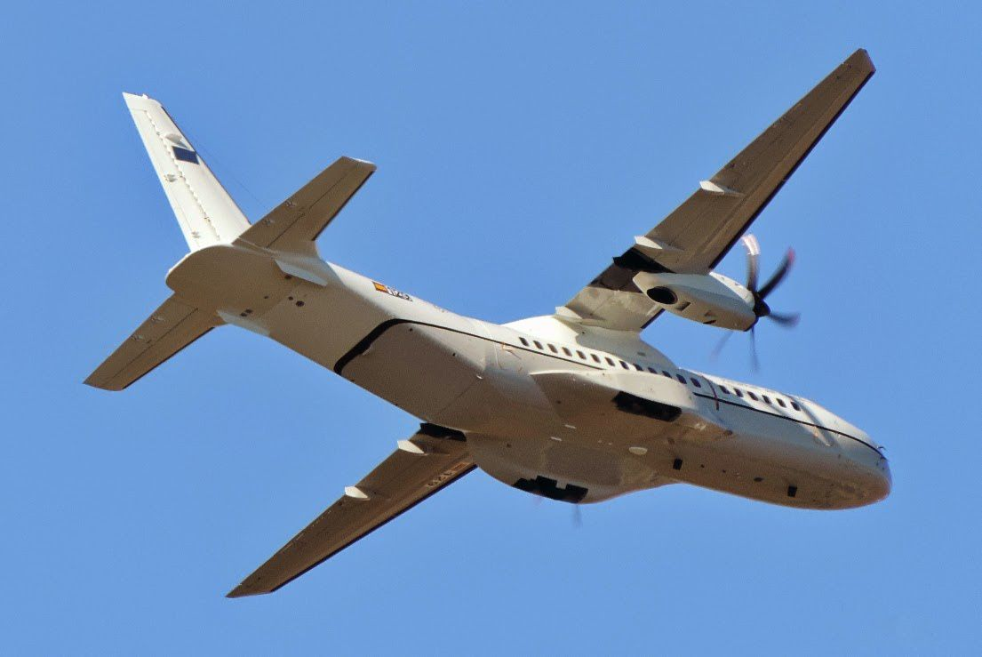 Philippine Air Force C-295M being tested in Seville, Spain