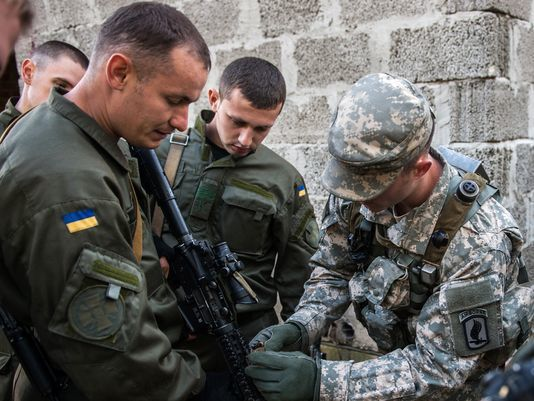 US Soldiers Readying for Ukraine Deployment