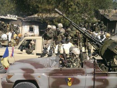 Chadian troops in Nigeria