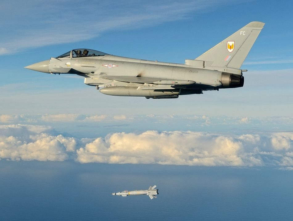 Paveway IV Now On Arab Typhoons In Syria