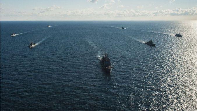 Des navires OTAN déployés en mer Noire pour des activités d'entraînement