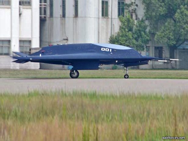 China Air Force Lijian Sharp Sword UCAV