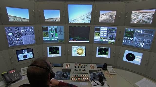 Simulator-Training in Holloman
