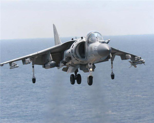 Harriers Go Digital: New technology allows Marine aircraft to expand mission