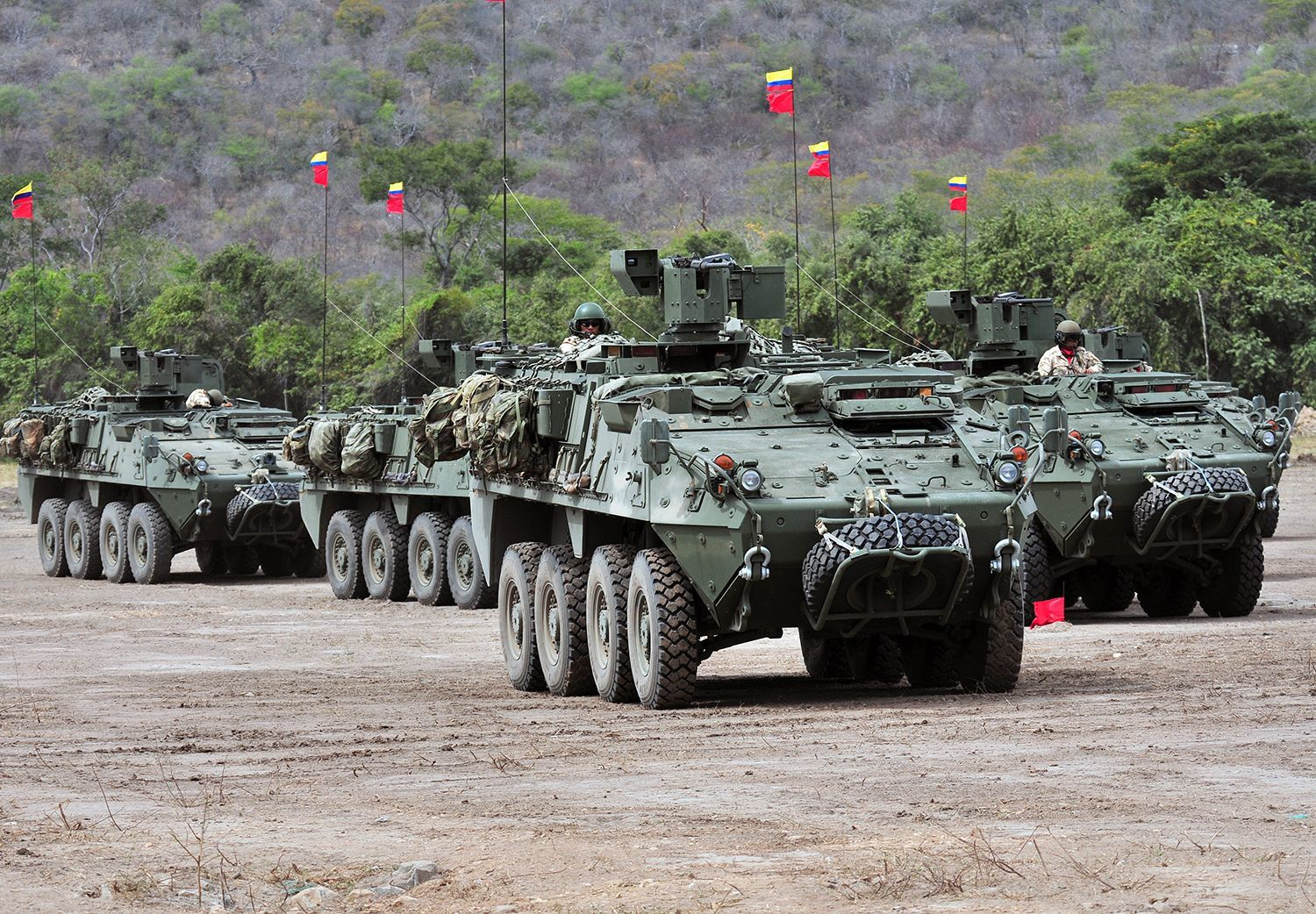 Gladiator LAV III - photo Ejecrito Colombia