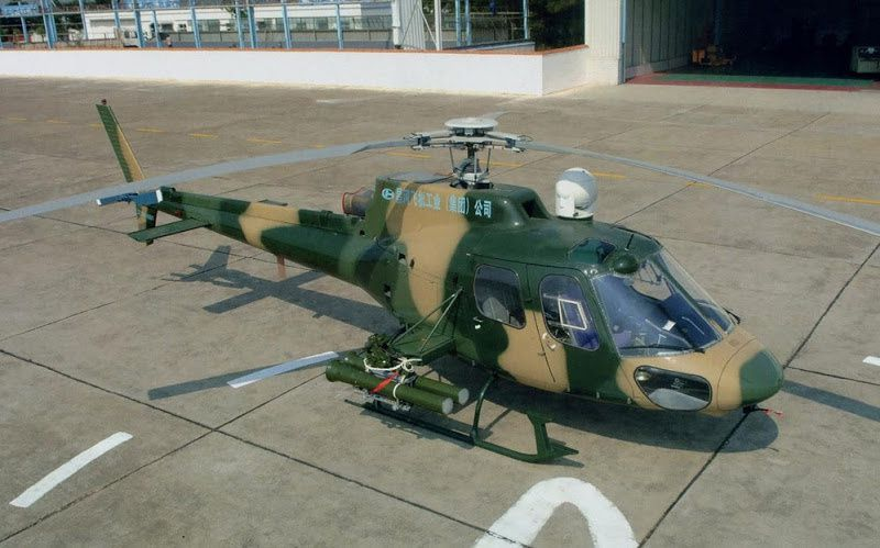 CZ-11W Light Attack Helicopter