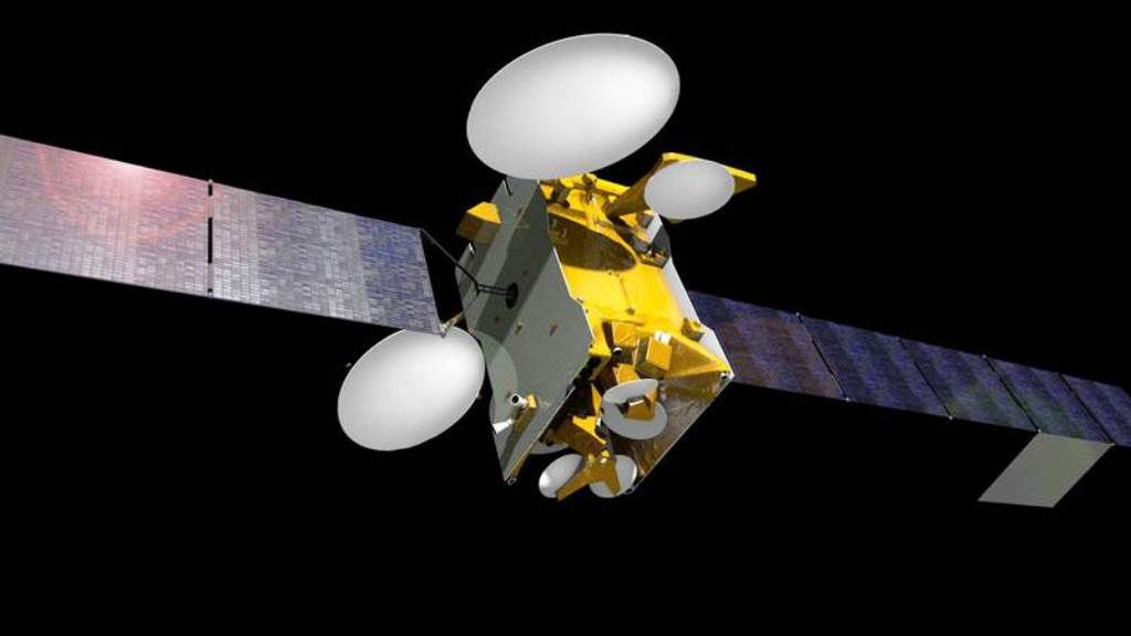 3D image of SES-10 satellite in space