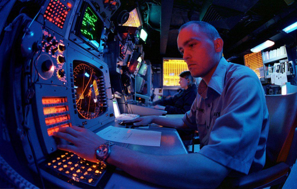 A Navy electronic warfare technician photo US Navy