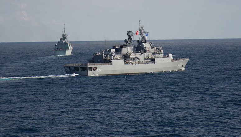 NATO Maritime Group visits Varna, Bulgaria, during Black Sea deployment