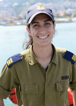 Captain Or Cohen - photo IDF Navy