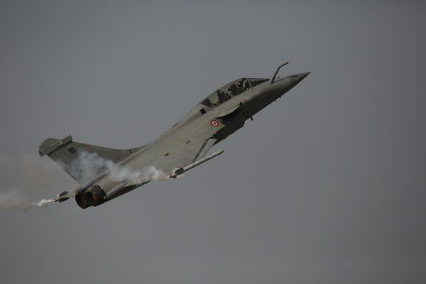 Rafale at Aero India 2015 photo Shruti Pushkarna